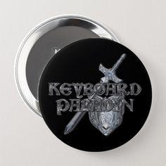 Keyboard Paladin MMORPG Button | Zazzle.com How To Make Buttons, Pvp, Wedding Invitation Wording, Dog Bowtie, Paladin, World Of Warcraft, Mixer, Keyboard, Wedding Gifts