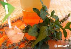 Levendulás-mentás citromfűszörp