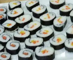 Rezept vegetarisches Sushi von helfi - Rezept der Kategorie Hauptgerichte mit Gemüse