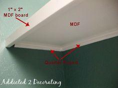 D.I.Y. Details:: My Closet Shelves and Cassandrau0027s Painted Piano
