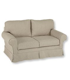 #LLBean: Pine Point Slipcovered Love Seat