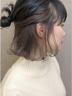 Under Hair Dye, Under Hair Color, Two Color Hair, Korean Hair Color, Hair Color Streaks, Hair Dye Colors, Hair Color Underneath, Peekaboo Hair, Split Dyed Hair