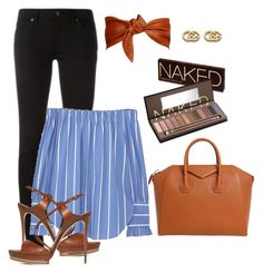 """""""Untitled #1917"""" by krocker on Polyvore featuring Calvin Klein, Burberry, MANGO, Givenchy, Gucci, Casadei and Urban Decay"""