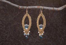Long Earrings, Chandelier Large Statement Earrings, #jewelry #earrings @EtsyMktgTool http://etsy.me/2i7IYSZ