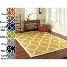 Inexpensive Rug! Love this style