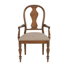 Baltic Armchair - Ethan Allen US. Amazing in white for head of table.