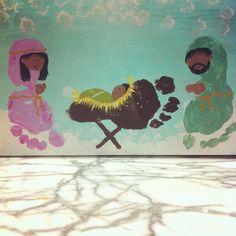 Footprint nativity...