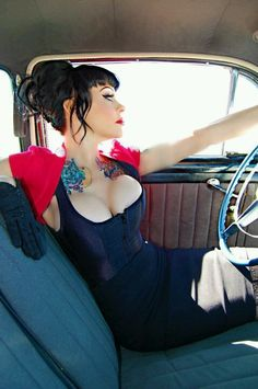 Hot Rods & Pin Up Gals