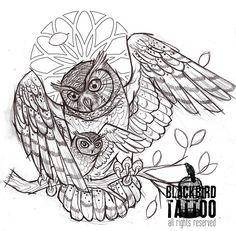 barn Owl Tattoos | owl # owlet # owl tattoo