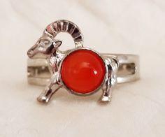 Capricorn Adjustable Ring