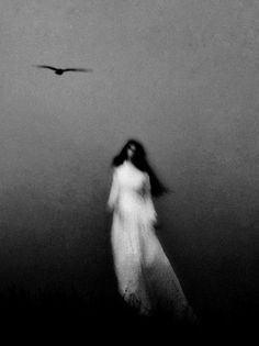 Photo by Elena Vojvodina. S) Beautiful Ghost. Creepy, Scary, Images Terrifiantes, The Dark Side, Arte Obscura, Photo D Art, Witch Aesthetic, Dark Photography, Dark Beauty