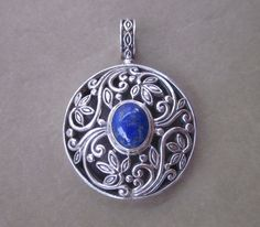 Hey, I found this really awesome Etsy listing at https://www.etsy.com/listing/154446928/balinese-sterling-silver-lapis-lazuli