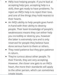 Ten Little Known Facts about INFJ's.