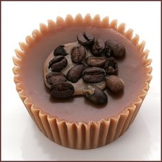Coffee soap--not only does it smell heavenly, but it's also an odor eater!