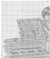 "Gallery.ru / ladushka333 - Альбом ""12"" Piano, Album, Gallery, Lady, Crossstitch, Manualidades, Pianos"