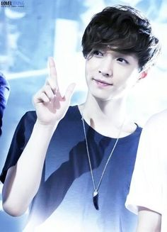 The very innocent and passionate unicorn :) #EXO #Lay