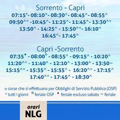 A chiudere il cerchio delle tratte piu' frequentate del Golfo di Napoli oggi citiamo il collegamento Sorrento-Capri invitandovi a visitare in nostro sito  per informazioni inerenti agli orari delle altre linee http://www.navlib.it/ita/linee/index.asp
