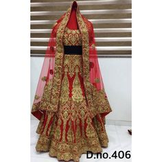 Exclusive Bridal Designer Lehenga ( D.No.406 )