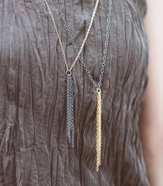 Excited to share the latest addition to my #etsy shop: Long Necklace, Boho Chic Jewelry, Unique Silver Necklace, Oxidized Silver Necklace, Goldfilled Charm, Boho Charm Necklace, Urban Jewelry #jewelry #necklace #gold #oxidizedsilver #sterlingsilver #bohonecklace #925silver #elegantnecklace #bohochicjewelry