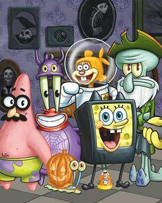 Spongebob HALLOWEEN series👻🎃