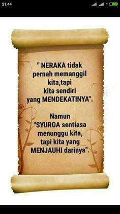 Mutiara kata Islam Quran, Islam Muslim, Muslim Quotes, Islamic Quotes, Me Quotes, Qoutes, Quran Quotes Inspirational, Islamic Messages, Islam Facts