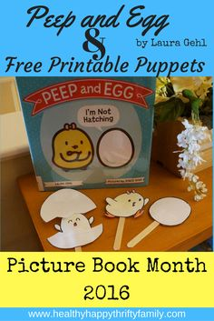 Peep and Egg Hatching Puppet Craft Free Printable Easter Activities, Summer Activities For Kids, Toddler Activities, Fun Activities, Toddler Preschool, Toddler Crafts, Preschool Crafts, Crafts For Boys, Fun Crafts