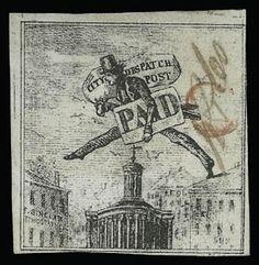 Philadelphia Despatch Post stamp.