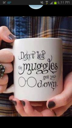 I need this! don't let muggles get you down :) harry potter love forever