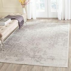 Safavieh Adirondack Ivory/Silver 11 ft. x 15 ft. Area Rug - ADR101B-1115 - The Home Depot