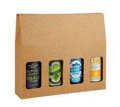 Four Beer Bottle Box - Pack of 5 - Home Brewery Packaging