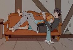 Cute Couple Art, Anime Love Couple, Anime Couples Drawings, Anime Couples Manga, Romantic Anime Couples, Anime Couples Sleeping, Anime Couples Hugging, Anime Couples Cuddling, Persona 5 Joker