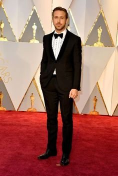 Ryan Gosling in Gucci | Oscars 2017 Red-Carpet Dresses | British Vogue