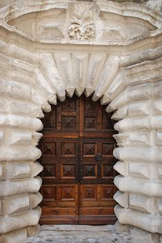 No.1 Door (Portrait) by mufidah, via Flickr ~ Uzès, Languedoc-Roussillon, France