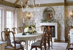 Love this room. It's serene and inviting.