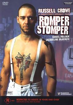 Romper Stomper - directed by Geoffrey Wright and starring an mesmerizing Russell Crowe Really Good Movies, Great Movies, Drama, Russell Crowe, Cinema Posters, Movie Posters, Star Pictures, Music Film, About Time Movie