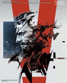 Metal Gear Solid V The Phantom Pain - Venom Punished Snake