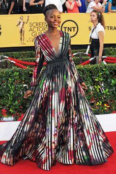 Lupita Nyongo at the SAG Awards