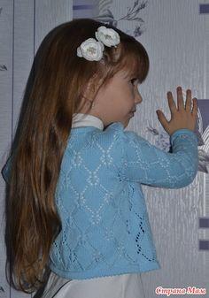 мир вязания  вязаные крючком ажурные кофточки для девочек 11 лет как связать