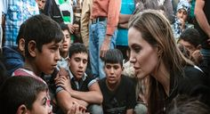 Los Angeles : Actress-director Angelina Jolie, who is also the UN refugee agency's special envoy, met survivors of ISIS attacks in northern Iraq.