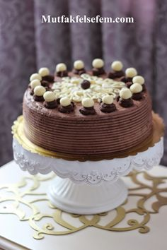 New Cake : Chocolate Cake Recipe Easy Cake Recipes, Dessert Recipes, Desserts, New Cake, Turkish Recipes, Confectionery, Chocolate Cake, Food And Drink, Cooking Recipes