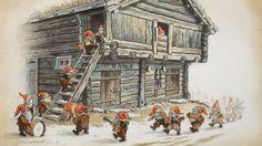 Kjell Einar Midthun est un illustrateur norvégien né le 26 juillet 1954. Il est surtout connu pour ses oeuvres dans le milieu du livre jeunesse mais également pour ses cartes postales et dessins de…