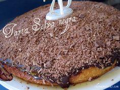 Tarta selva negra. Especialidad thermomix #recetas #postres #tartas #thermomix
