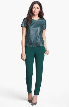 Halogen® 'Quinn' Skinny Ankle Pants (Regular & Petite) available at #Nordstrom