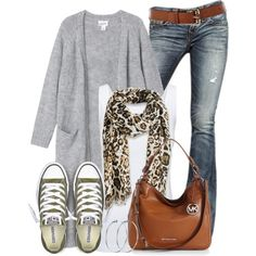 Casual Outfits with Karen Millen Leather Jeans Belt - Outfit Ideas Fall Outfits, Casual Outfits, Cute Outfits, Fashion Outfits, Womens Fashion, Converse Outfits, Converse Sneakers, Brown Converse, Airplane Outfits