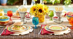 Host an Outdoor Party | Pier 1 Imports colorful