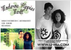 U-HU at Moderne Hippies Kerstmarkt zondag 21 december  Amsterdam Roest in Amsterdam