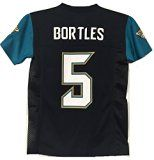 Jacksonville Jaguars Blake Bortles #5 NFL Youth Black Home Jersey (Youth X-Large 18-20)