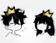 Cute Anime Profile Pictures, Matching Profile Pictures, Cute Anime Pics, Cute Anime Boy, Anime Love, Girl Cartoon Characters, Cartoon Art, Emo Art, Chibi