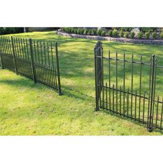Peak 1200mm Black No-Dig Fencing Sheffield Fence Panel | Bunnings Warehouse Fencing Supplies, Landscaping Supplies, Garden Landscaping, Wire Fence, Fence Gate, Fence Panels, Digging Holes, Kerb Appeal, Lists To Make