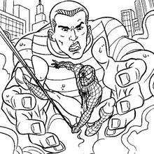Spiderman Vs Sandman Coloring Pages - Bibaxu. Spiderman Coloring, Harry Osborn, Green Goblin, Crazy Colour, Amazing Spider, Coloring Pages, Action, Animation, Black And White